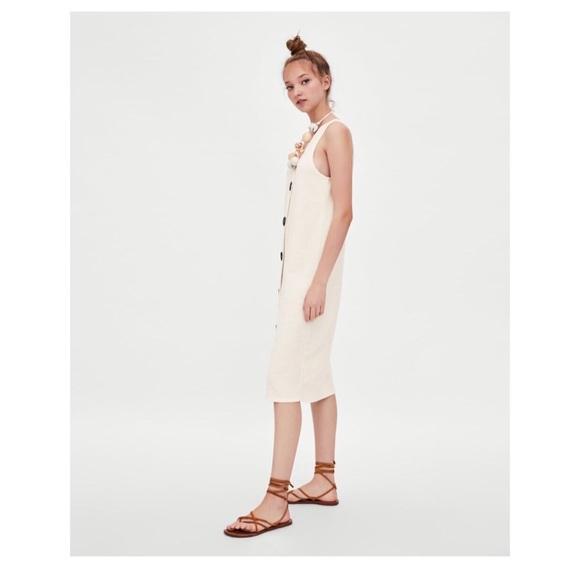 419f73f541e NWT BLOGGER S FAVORITE ZARA Rustic Dress
